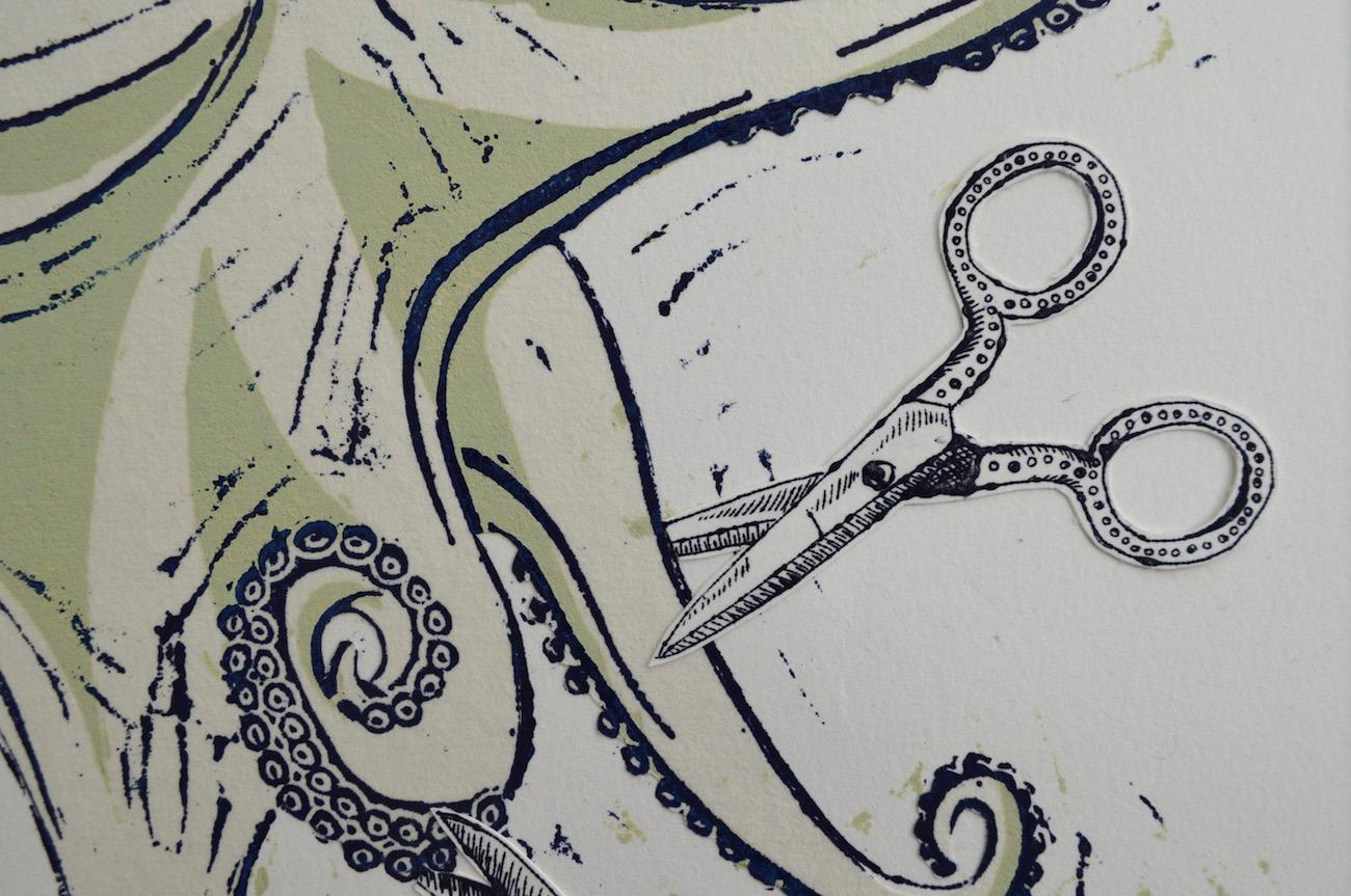 Pentapus, Detail
