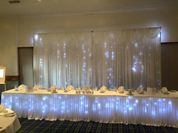 Fairy light backdrop hire glasgow