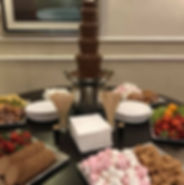 chocolate fountain hire glasgow