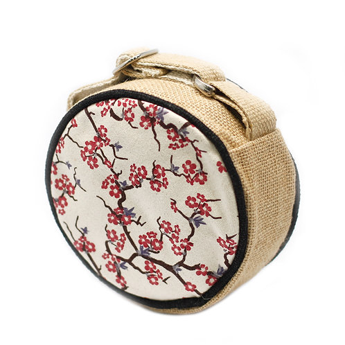 Eco Round Bag - Small - Cherry Blossom