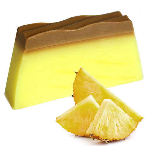 Tropical Paradise Soap - Pineapple - SLICE approx 100g