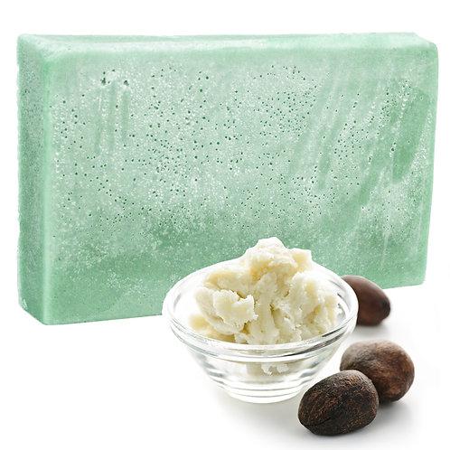 Double Butter Luxury Soap Minty Oils - SLICE 100g