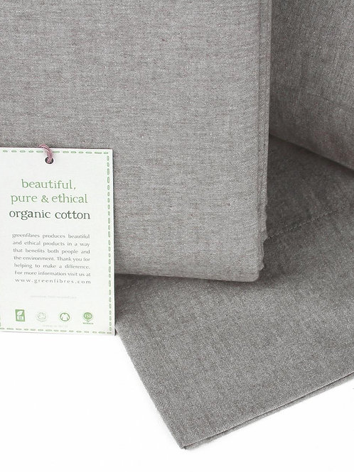 Everyday Organic Cotton Pillow Case Tawny (GOTS cert.)