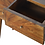 Thumbnail: Solid Wood Sunburst Design Console Table with Drawers