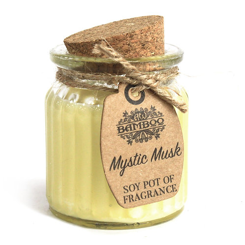 Mystic Musk Soy Pot of Fragrance Candles (x 2)