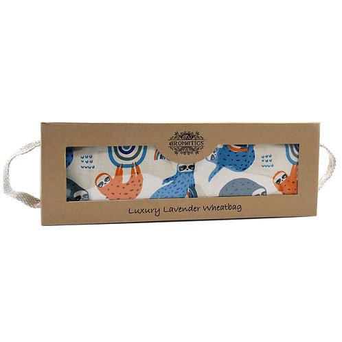 Luxury Lavender Wheat Bag in Gift Box - Sloth Design
