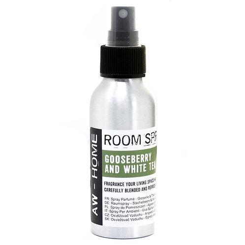 100ml Room Spray - Gooseberry & White Tea