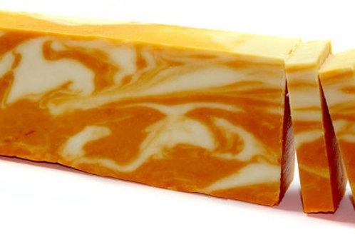 Orange - Olive Oil Soap Loaf