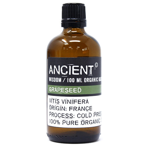 Grapeseed Organic Base Oil - 100ml