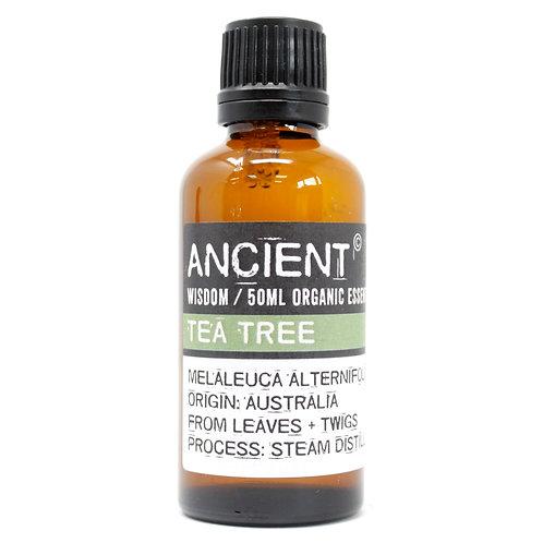 Tea Tree Organic Essential Oil 50ml