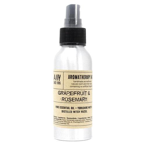 100ml Essential Oil Mist - Grapefruit and Rosemary