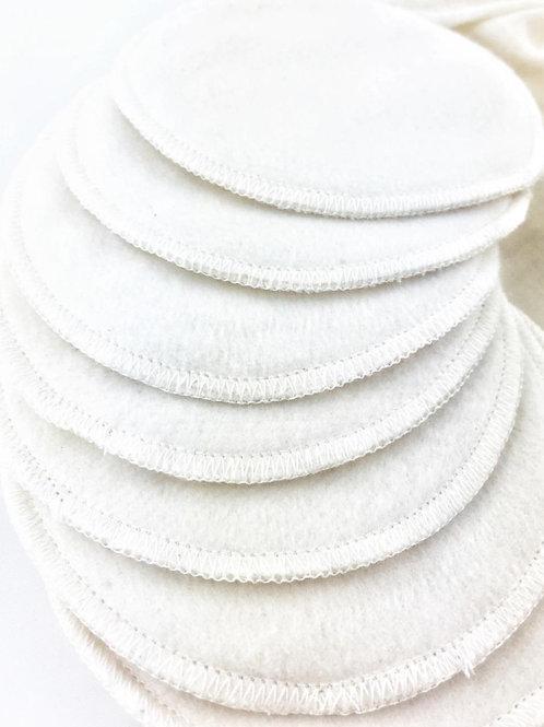 Organic Cotton Reusable Make-up Pads (GOTS cert.) - Pack of 8