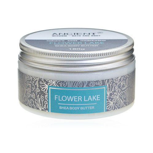 Shea Body Butter 180g - Flower Lake