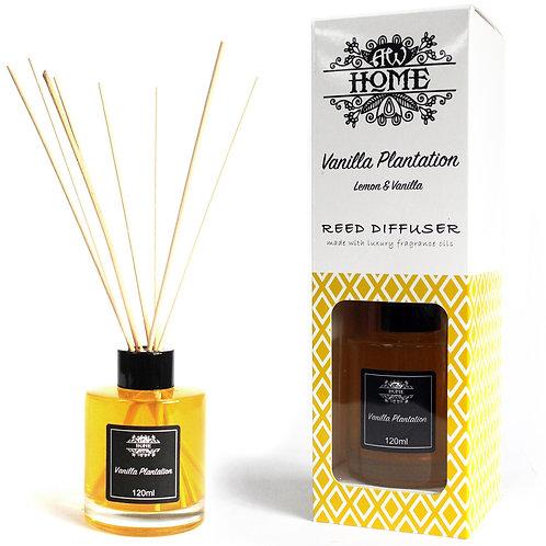 120ml Reed Diffuser -  Vanilla Plantation