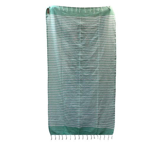 Cotton Pario Throw - 100x180 cm - Picnic Green