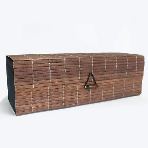 Triple Box Slatted Bamboo