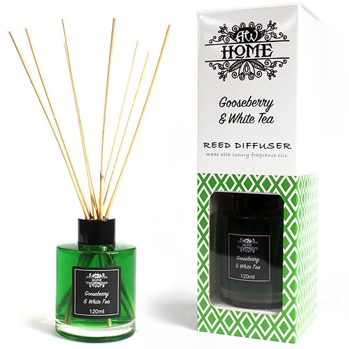 120ml Reed Diffuser -  Gooseberry & White Tea