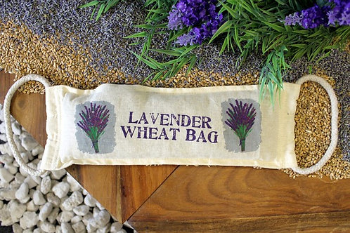 Natural Cotton Wheat Bags - Lavender