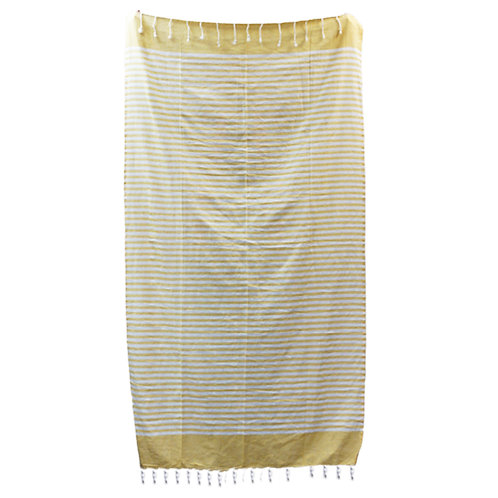 Cotton Pario Throw - 100x180 cm - Sunny Yellow