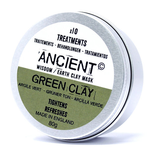 Green Clay Face Mask 80g