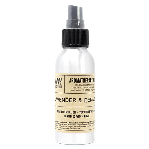 100ml Essential Oil Mist - Lavender & Fennel