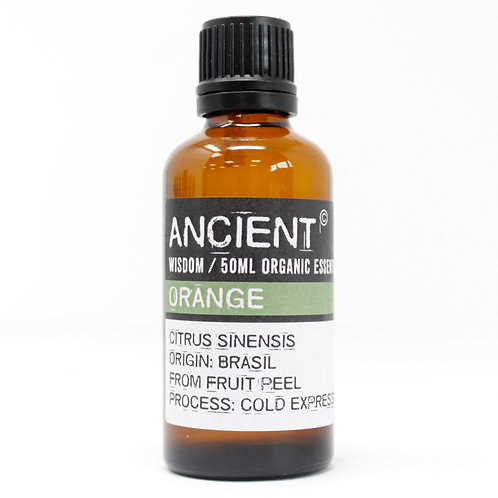 Orange Organic Essential Oil 50ml