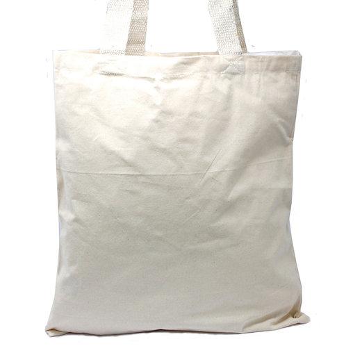 Lrg Natural 6oz Cotton Bag 38x42cm