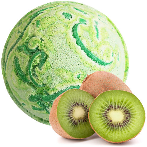 Tropical Paradise Coco Bath Bomb - Kiwi Fruit