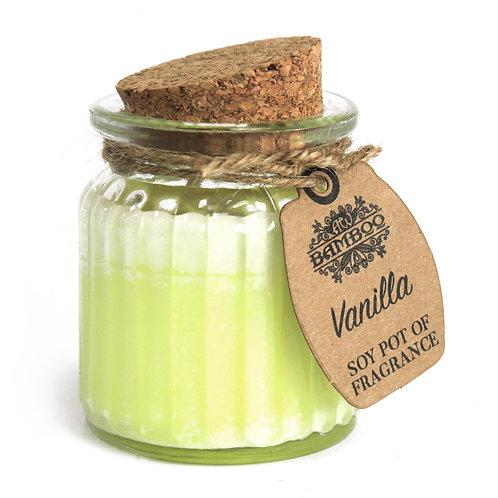 Vanilla Soy Pot of Fragrance Candles (x 2)