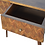 Thumbnail: Contemporary Chestnut or Oak Finish Console Table