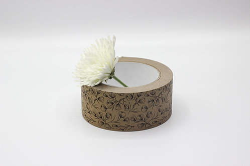 Floral Print Self Adhesive Kraft Paper Tape