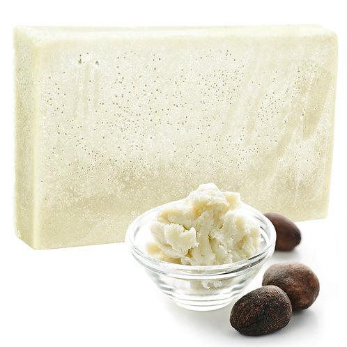 Double Butter Luxury Soap Earthy Oils - SLICE 100g