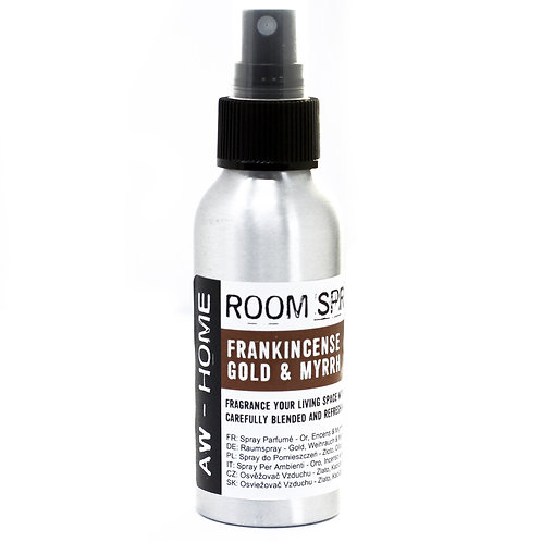 100ml Room Spray - Gold, Frankincense & Myrrh