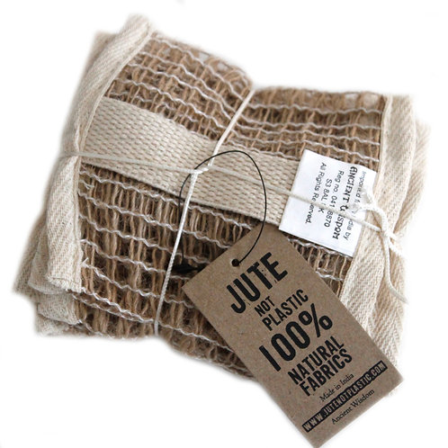 Soft Jute Soap Bag