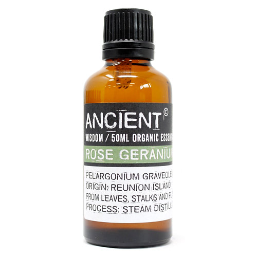 Rose Geranium Organic Essential Oil 50ml