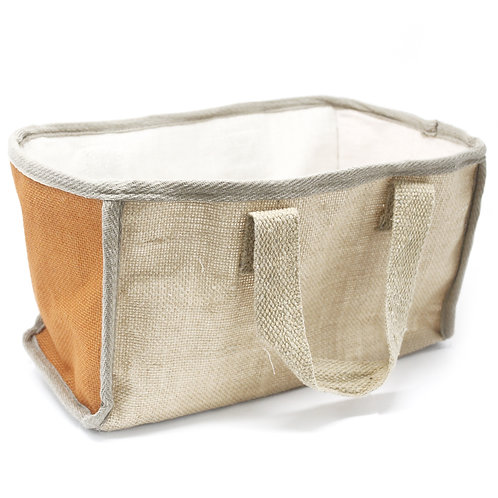 Large Shopping Basket - 33x18x20cm - Turmeric
