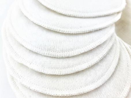 December Product Spotlight - Organic Cotton Reusable Make-up Pads