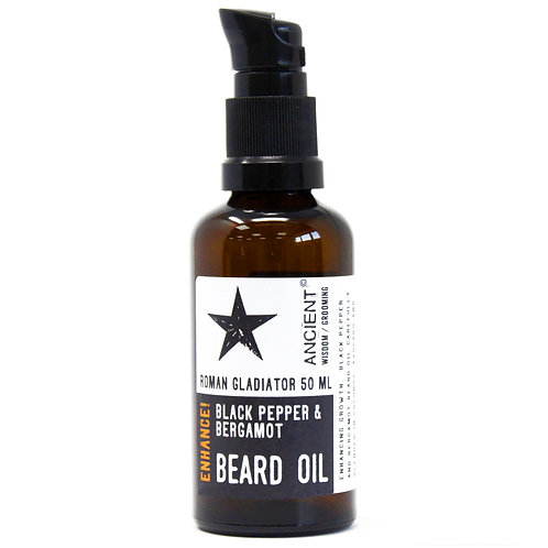 50ml Beard Oil - Roman Gladiator - Enhance!