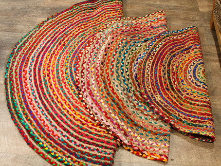 January Product Spotlight -Jute & Recycled Cotton or Denim Rugs