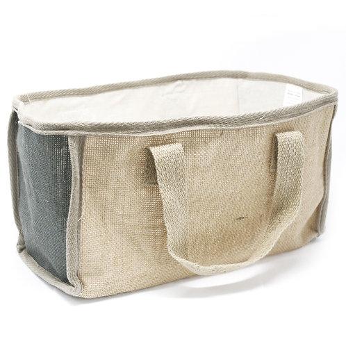 Lrg Shopping Basket - 33x18x20cm - Charcoal