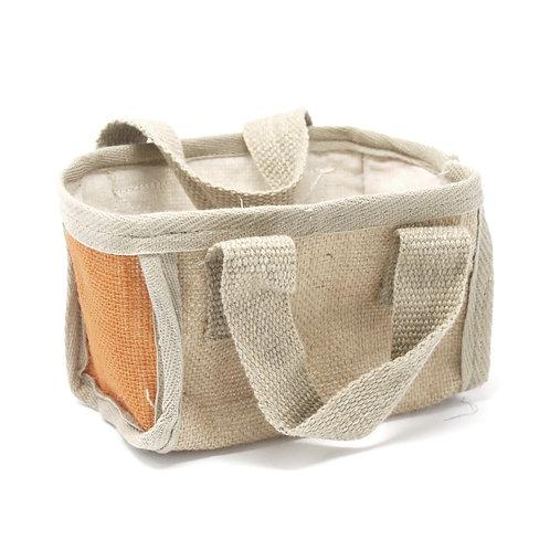 Mini Shopping Basket - 16x10x12cm - Turmeric