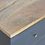 Thumbnail: Hand Painted Bedside Table in Charcoal Black with 2 Drawers Oak Finish Top