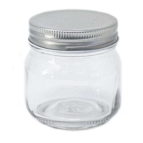 Square Jar - Four Sides & Lid