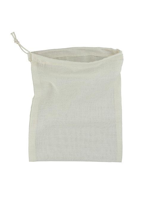 Organic Cotton Lightweight Drawstring Bag