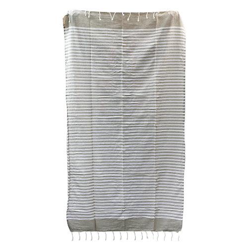 Cotton Pario Throw - 100x180 cm - Warm Sand