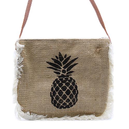 Fab Fringe Bag - Pineapple Print