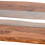 Thumbnail: Solid Wood Live Edge Collection River Design Coffee Table with Glass Centre