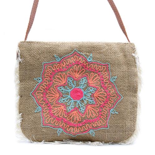 Fab Fringe Bag - Mandela Embroidery