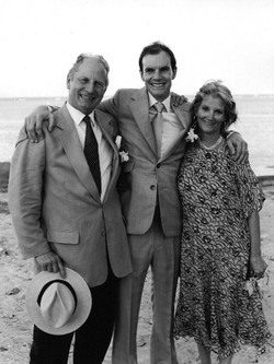 Angus and parents - Puerto Rico