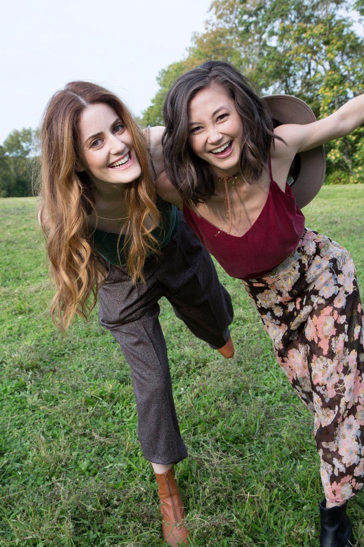 Kimiko Glenn and Kayla Foster
